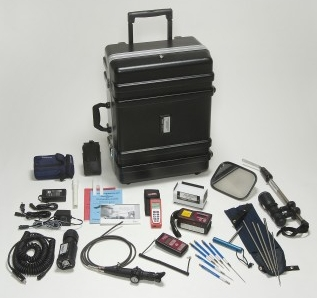 The CSECO CT-30 Contraband Detection Team Kit is a complete kit for detecting hidden contraband