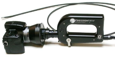 The FreedomView (FV) Fiberscope is used daily by US Customs and Border Patrol agents for contraband detection.