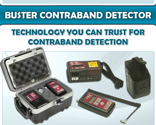 Buster Contraband Detector – Technology You Can Trust for Contraband Detection