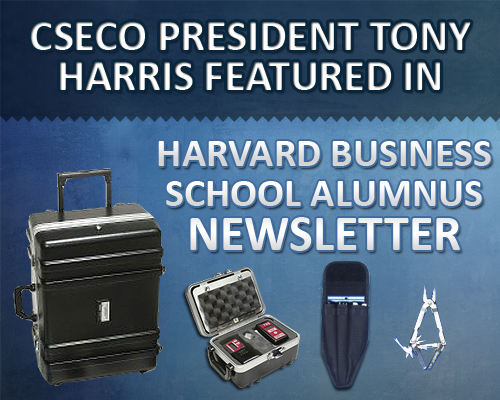 CSECO President Tony Harris Featured in Harvard Business School Alumnus Newsletter