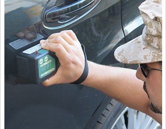 Using a Density Meter for Contraband Detection